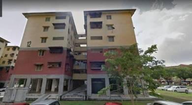 Flat PKNS Medium Cost Seksyen 7 Shah Alam [Tingkat 2]