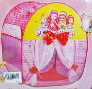 Play tent Pop Up Ribbon Tent Toy for children