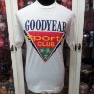 Vintage Malaysia Goodyear Sports Club t shirt
