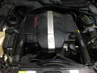 Mercedes Benz S320 W220 98-02Y Engine Empty