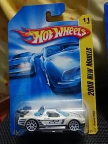 Hotwheels Acura Honda NSX GT white not Tomica