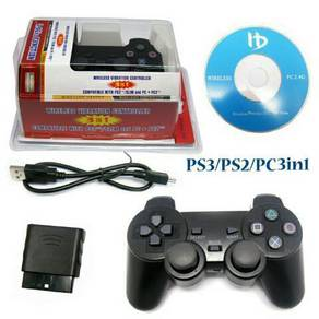 Wireless controller for ps2,ps3 & pc