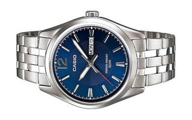 Casio Men Date Stainless Steel Watch MTP-1335D-2AV