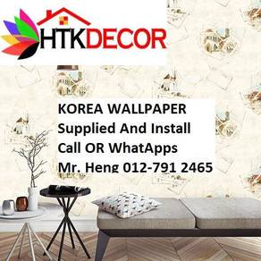 Simple Design With Wall paper with Install 174W