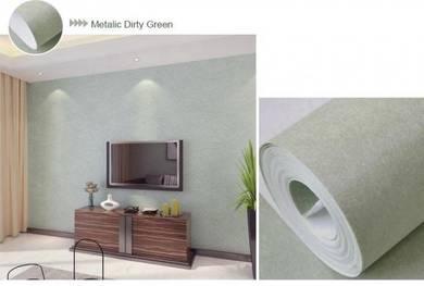 Wallpaper Light Dirty Green