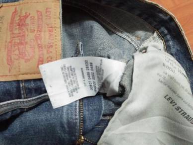 Levis 507 jeans W 30 L 39 ref May 14