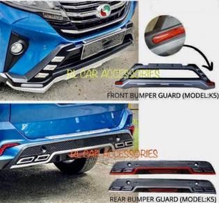 Aruz bodykit body kit bumper drl led reflector