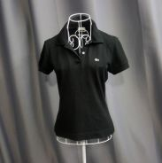 Lacoste women's polo - black tops