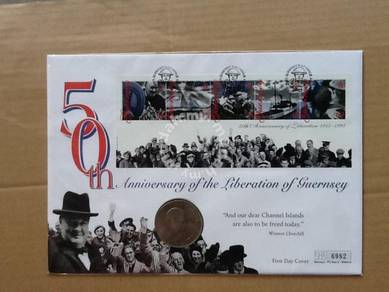 50 the anniversary Liberation of Guernsey