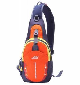 Outdoor Sports Riding Bag Chest Backpack (Orange)
