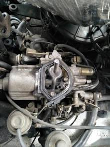 Carburetor piston utk wira saga iswara satria iprt