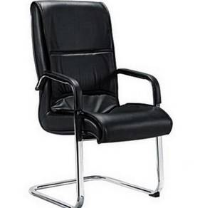 Contemporary PU Leather Guest Waiting Room Chair