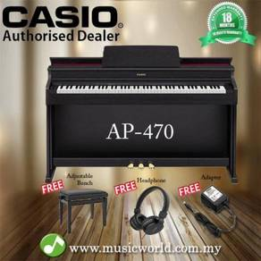 Casio ap-470 88 key celviano digital piano black