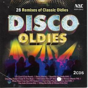 Disco Oldies 28 Remixes of Classic Oldies 2CD