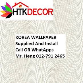 PVC Vinyl Wall paper with Expert Install 615BW