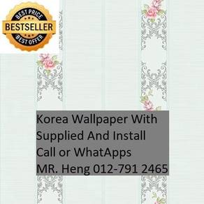 Install Wall paper for Your Office 523H