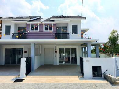 2 storey Terrace Freehold Guarded community Ipoh Klebang