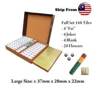 4 Players Mahjong Game Party Gold Big Tile
