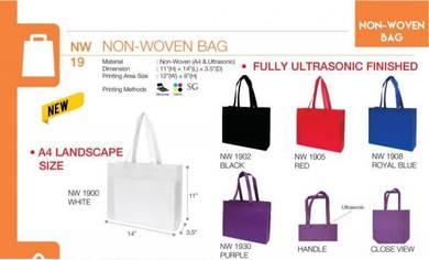 Non Woven Bag 14HX11WX3.5D A4 NW19XX