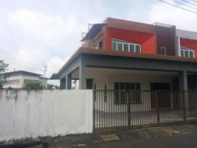 Double Storey Terrace Corner at Jln Stephen Yong, Kuching