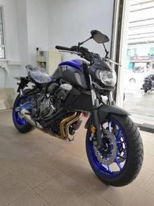 Yamaha MT07 ABS (zero muka)