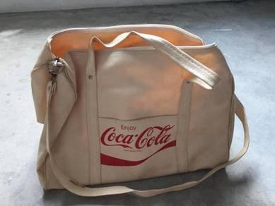 Coca cola bag vintage 1970 NOS levis nike pepsi