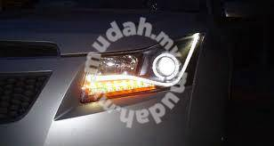 Chevrolet cruze projector head lamp drl with led