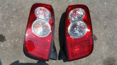 Lampu Facelift Nissan March K12 Jpn