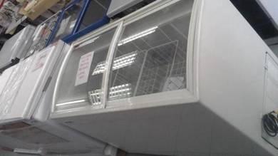 Glass Top (curve DESIGN) Freezer (350L) - NEW