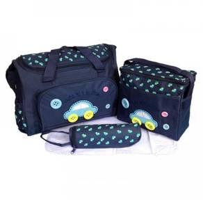Mummy Organizer Bag Baby Diaper Bag 4in1 (Car)