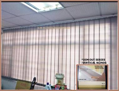 Vertical Blinds Code- VC22-BEIGE-Dim out Series