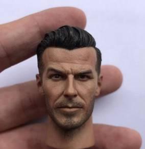 David Beckham 1/6 Head Sculpt