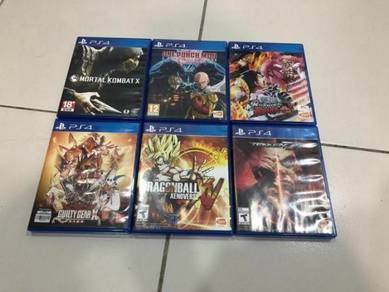 Fighting ps4 games used