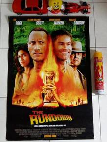 Poster Original THE RUNDOWN Limited Edition 2003