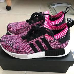 Adidas nmd r1 primeknit women pink saiz 8uk