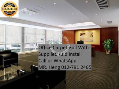 Office Carpet Roll Supplied and Install 19D