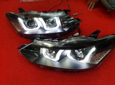 Toyota vios led projector headlamp head lamp light