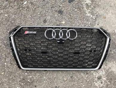 NEW Audi A4 B9 Grill RS4 Front Grille Bodykit Set