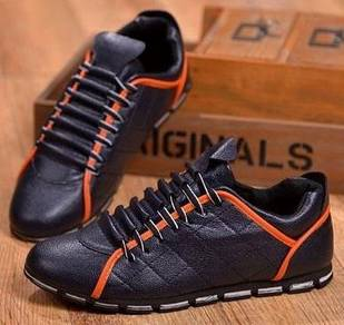 R0243 Stylish Classic Blue Sneakers Casual Shoes