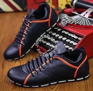 0243 Kasut Classic Blue Stylish Sneaker Men Shoes