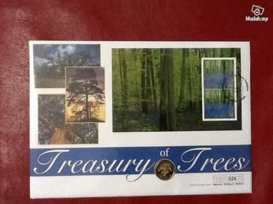 Treasury of trees FDC