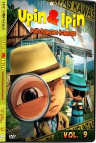 DVD UPIN Dan IPIN Dan Kawan Kawan Vol.9