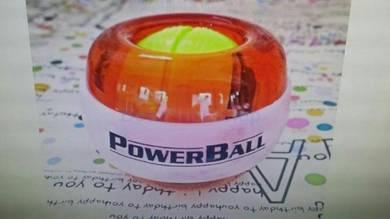 Power ball berlampu baru dengan post