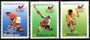 Mint Stamp World Cup Hockey Malaysia 2002