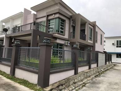 New Township 2 Storey End Lot Bdr Sri Sendayan Seremban 2