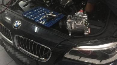 BMW F10 F30 5 Series AC Compressor Denso 6pk New