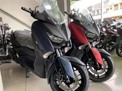Yamaha xmax readystock banyak welcome cash buyer