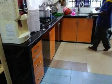 Kabinet dapur dan ubahsuai rumah