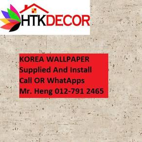 Wall paper Install at Living Space 483RW