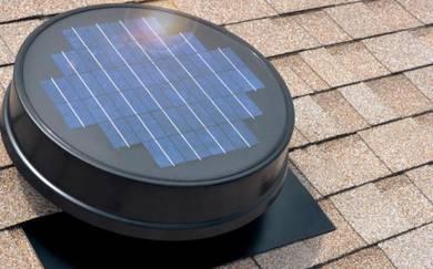JOHOR Solar Roof Ventilator & FREE Air Vents